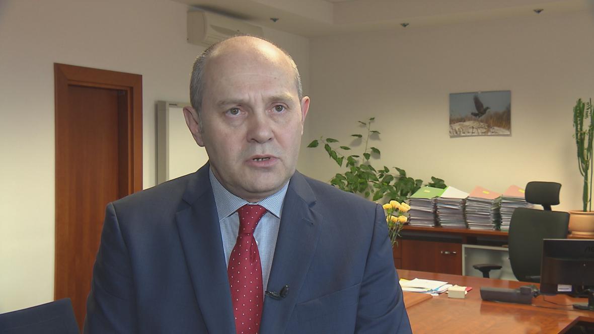 Náměstek ministra vnitra pro státní službu Josef Postránecký