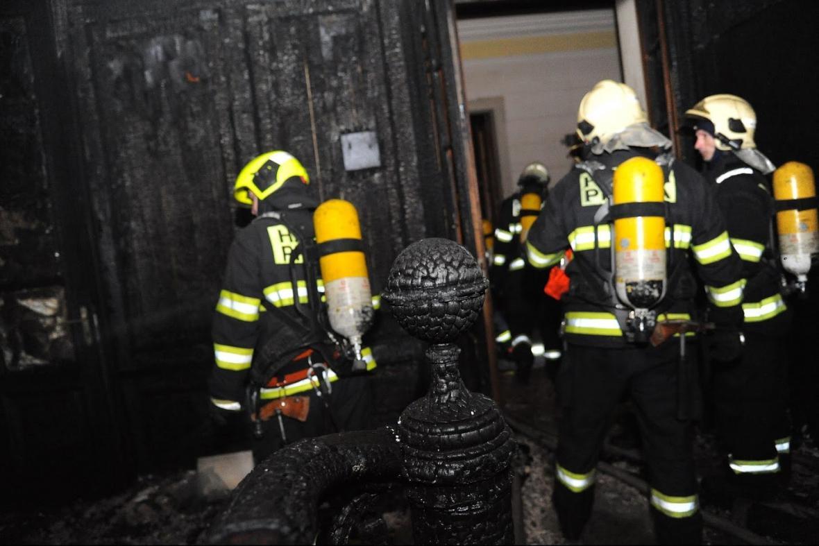 Zásah v pražském hotelu Eurostars David