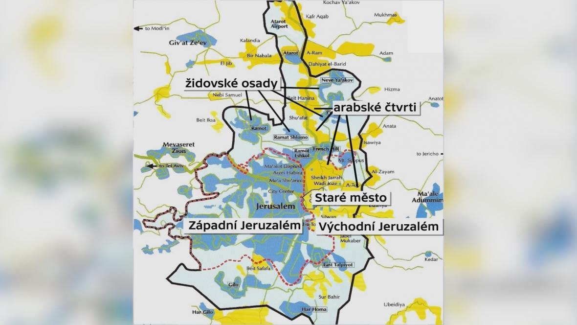 Rozdělený Jeruzalém