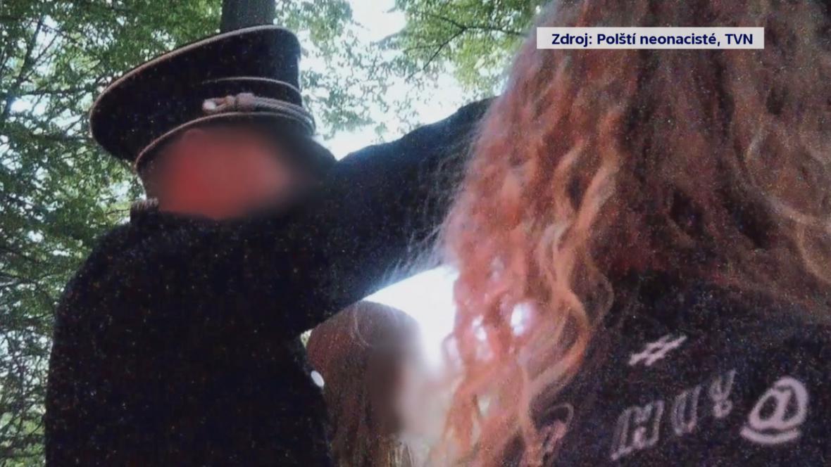 Záběr z dokumentu polské televize