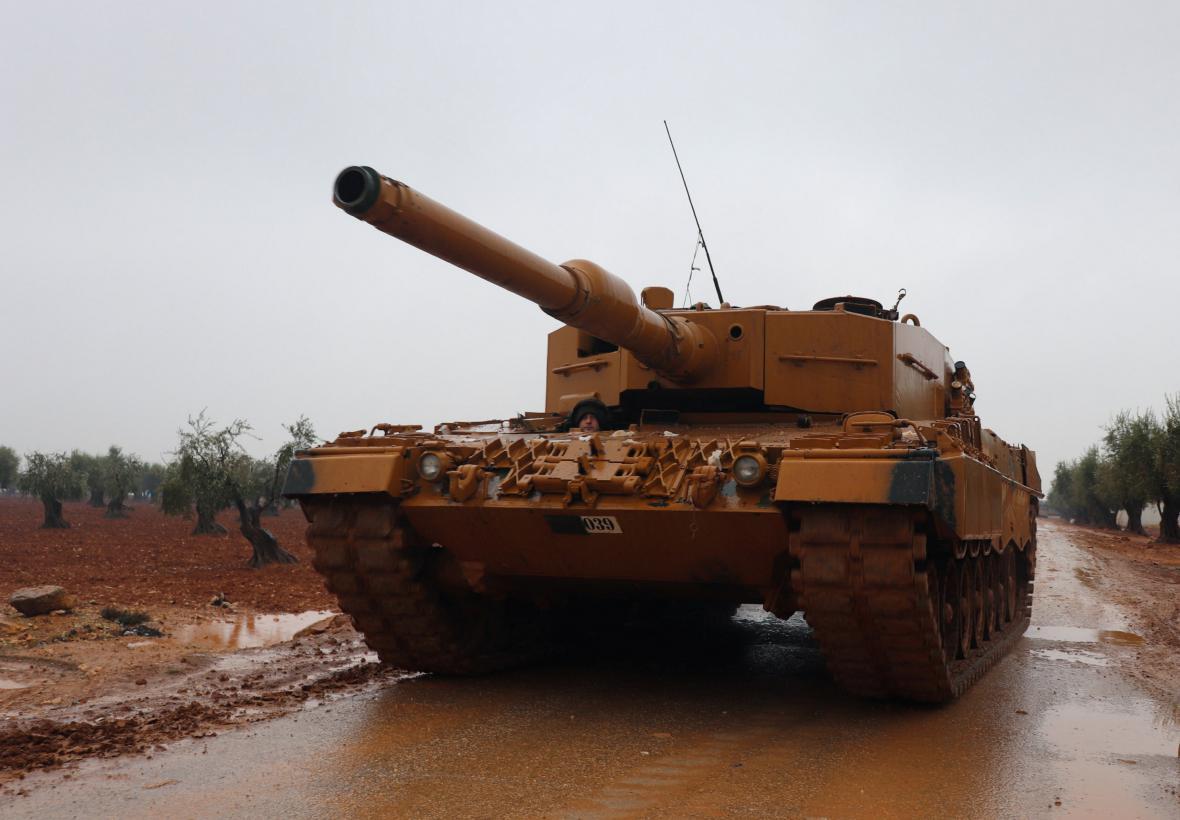 Německé Leopardy v turecké armádě
