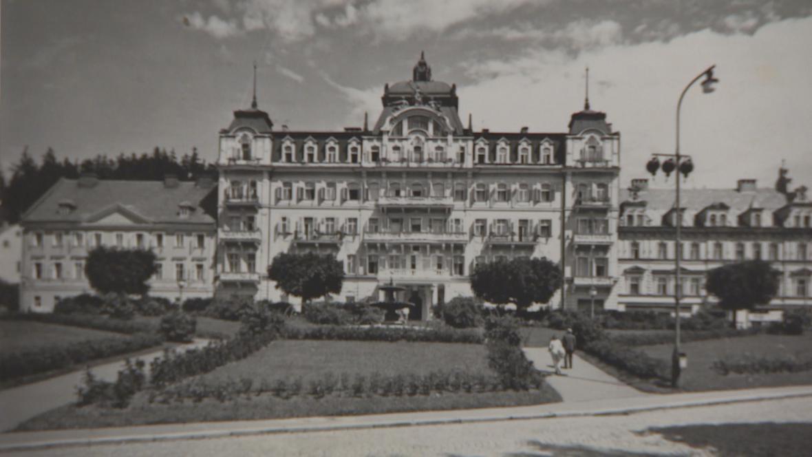 Hotel Kavkaz v Mariánských Lázních