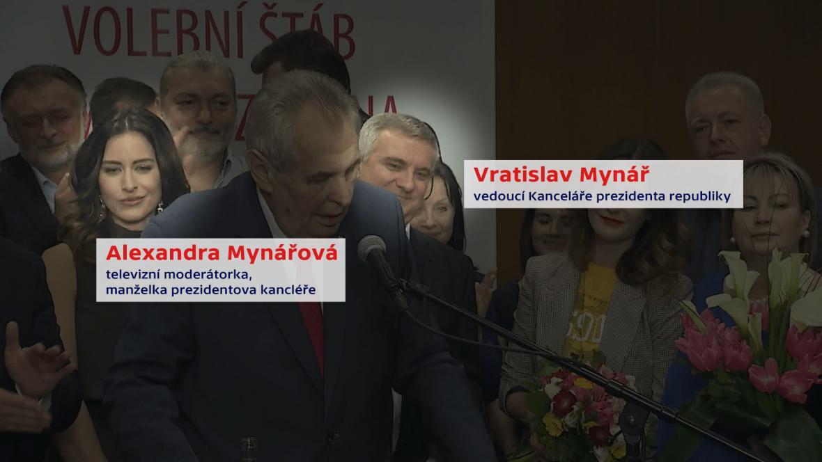 Alexandra a Vratislav Mynářovi