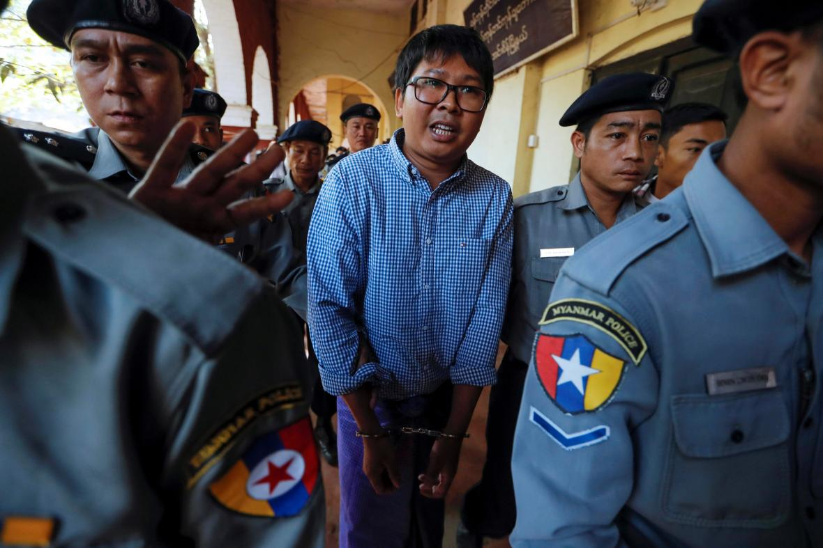 Zadržený novinář Reuters