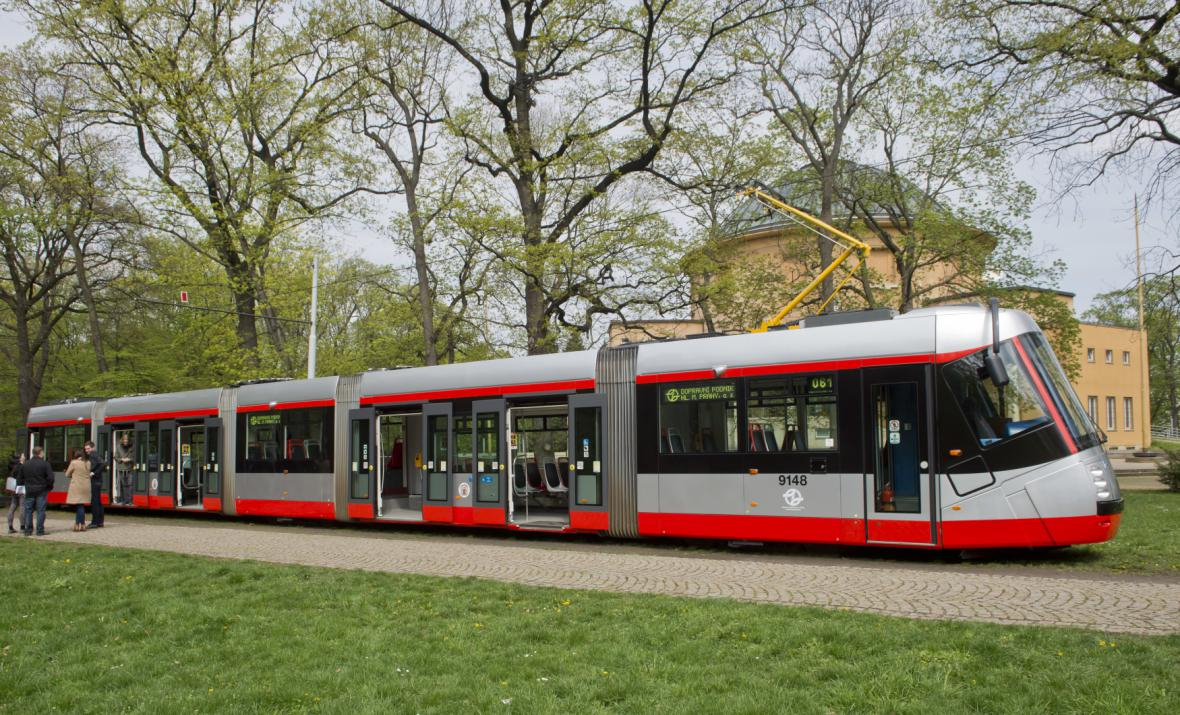 Tramvaj 14T po modernizaci