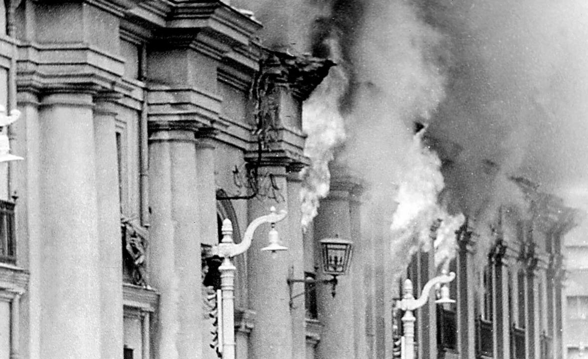 Vojenský převrat v Chile 11. září 1973