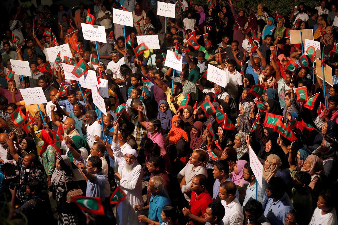 Maledivská policie