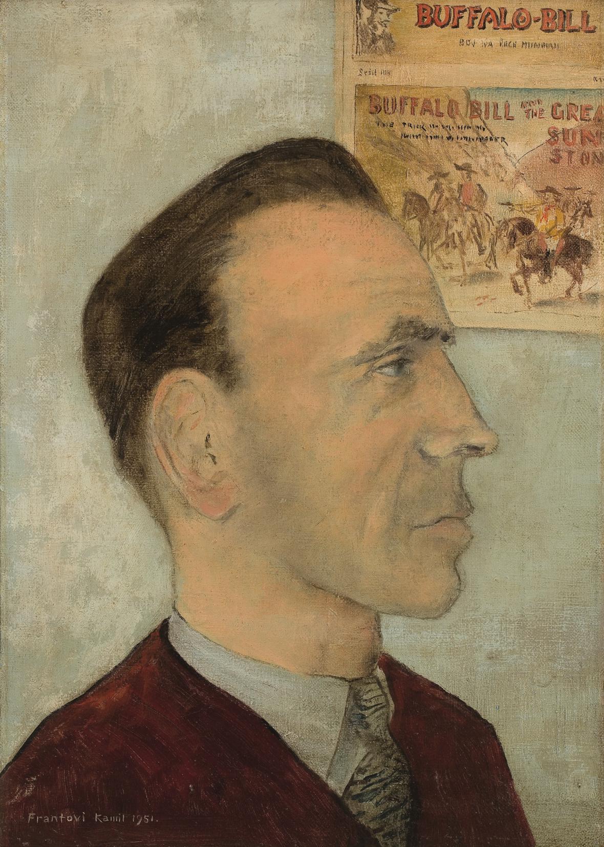 Básník František Hrubín, 1951, Retro Gallery
