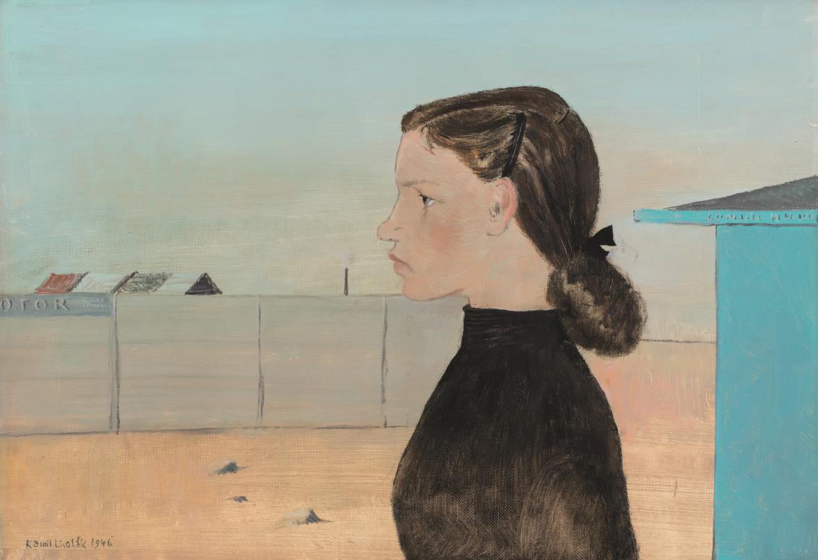Dcera velkoměsta, 1946, soukromá sbírka