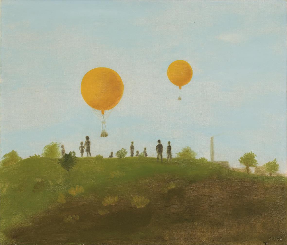 Dva balony, 1939, Retro Gallery
