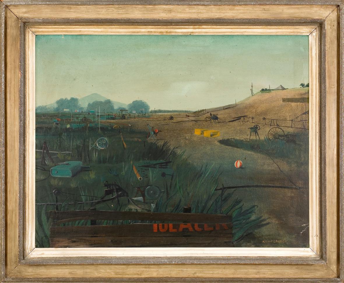 Krajina oživená stroji, 1944, Retro Gallery