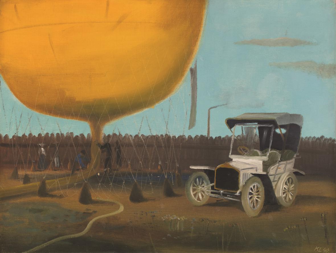Soupeři, 1940, soukromá sbírka