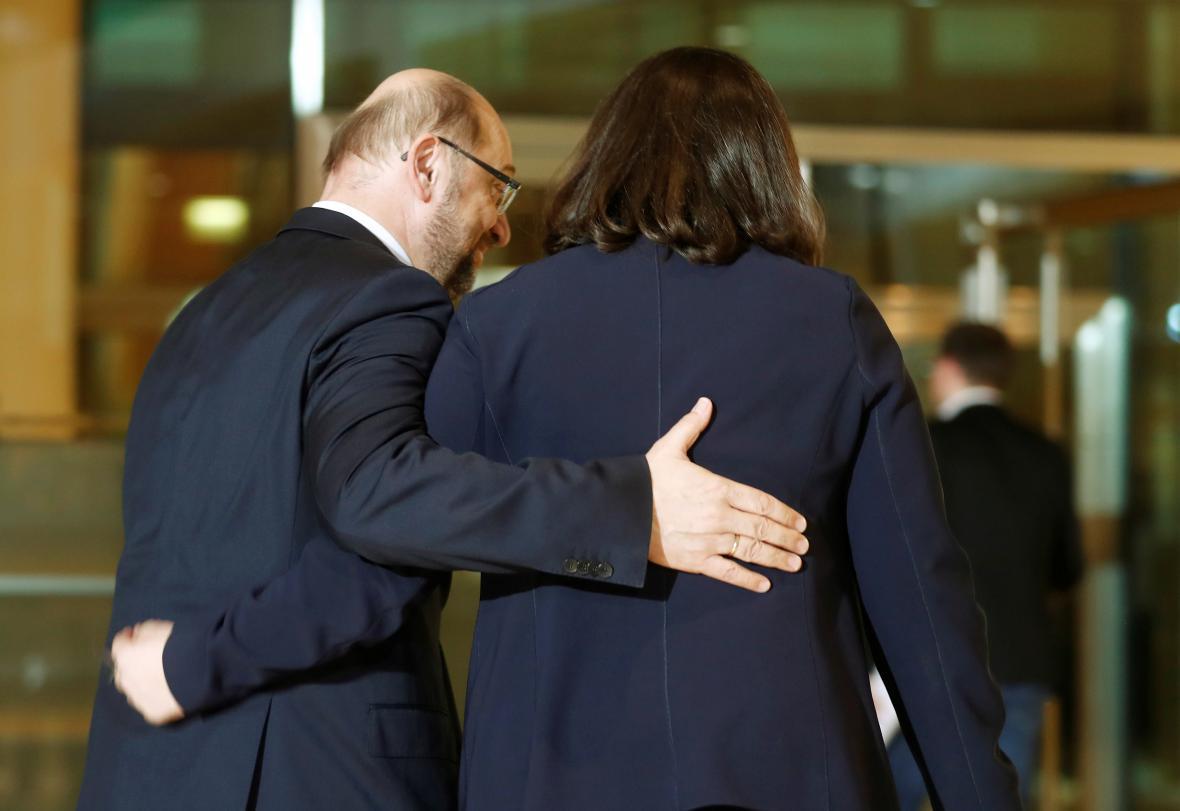 Schulz a Nahlesová