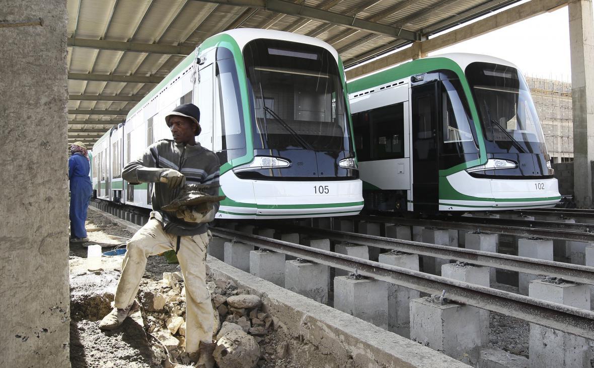 Do projektu železnice v etiopské Addis Abebě investovala Čína téměř 500 milionů dolarů