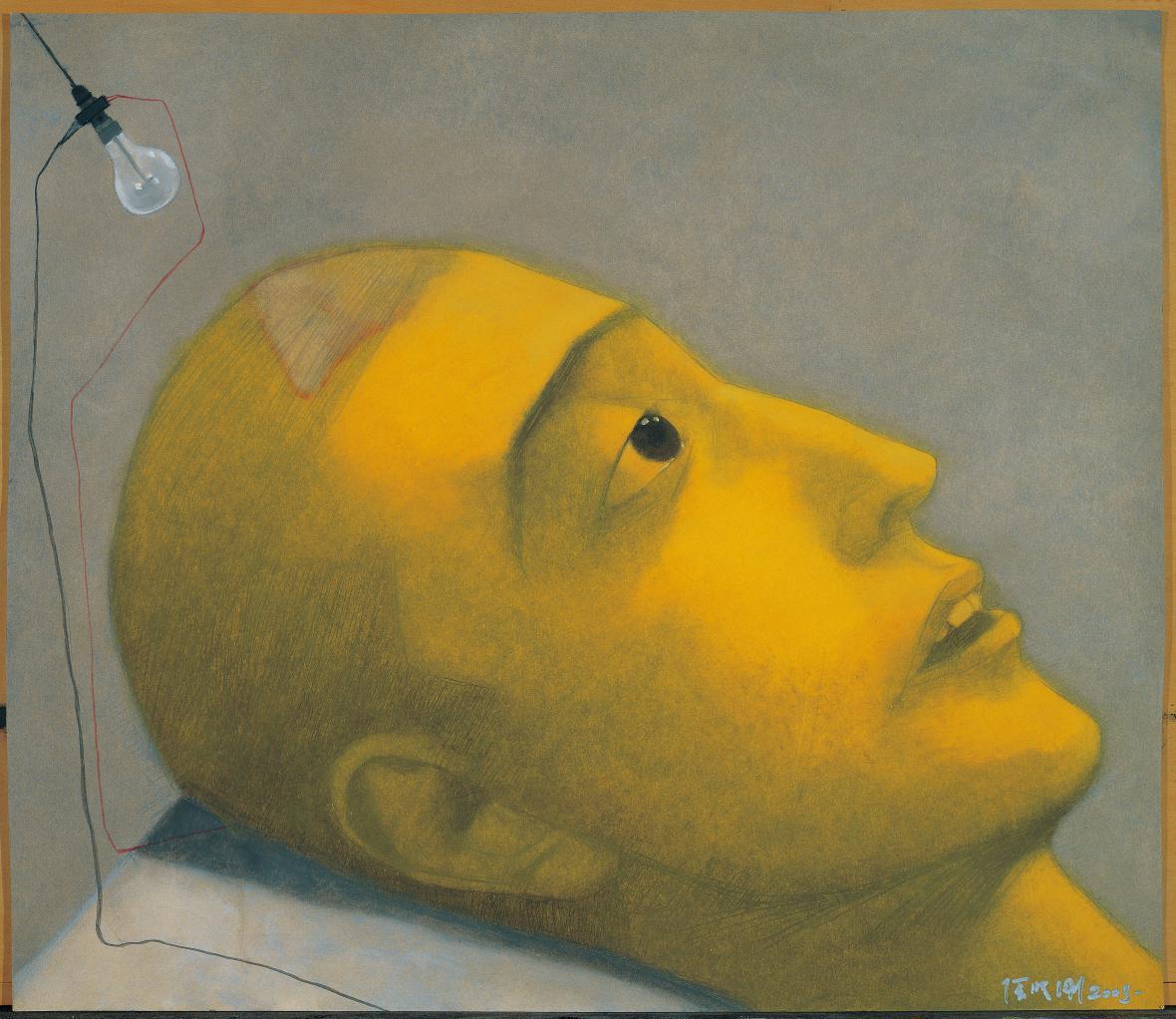 Zhang Xiaogang / Bez názvu, 2003