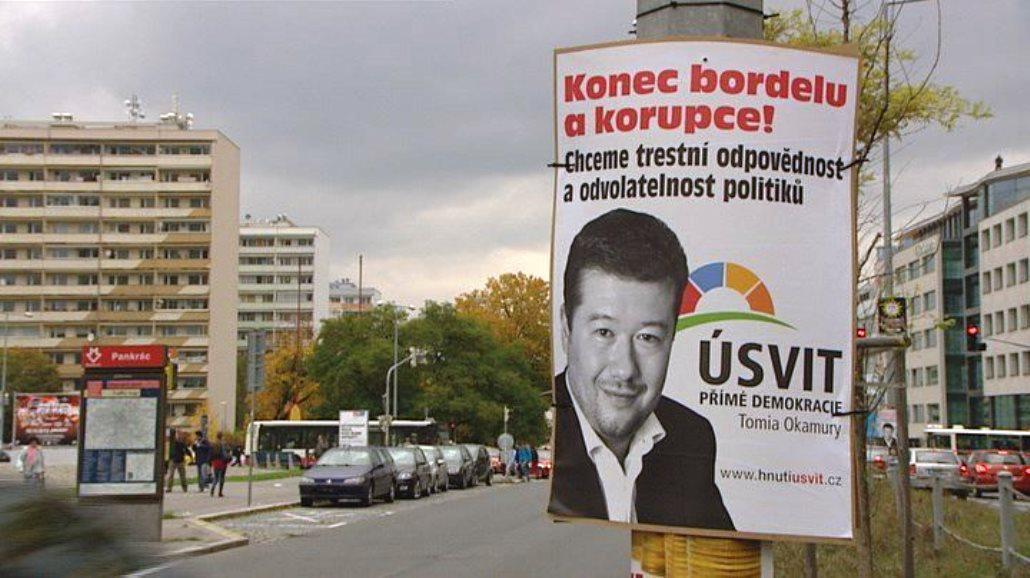 Kampaň hnutí Úsvit