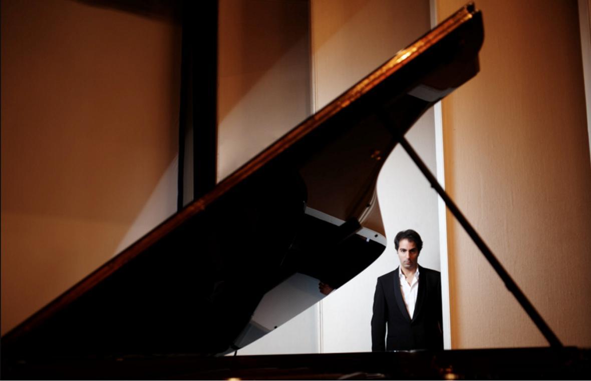 Izraelsko-palestinský pianista Saleem Aboud Ashkar