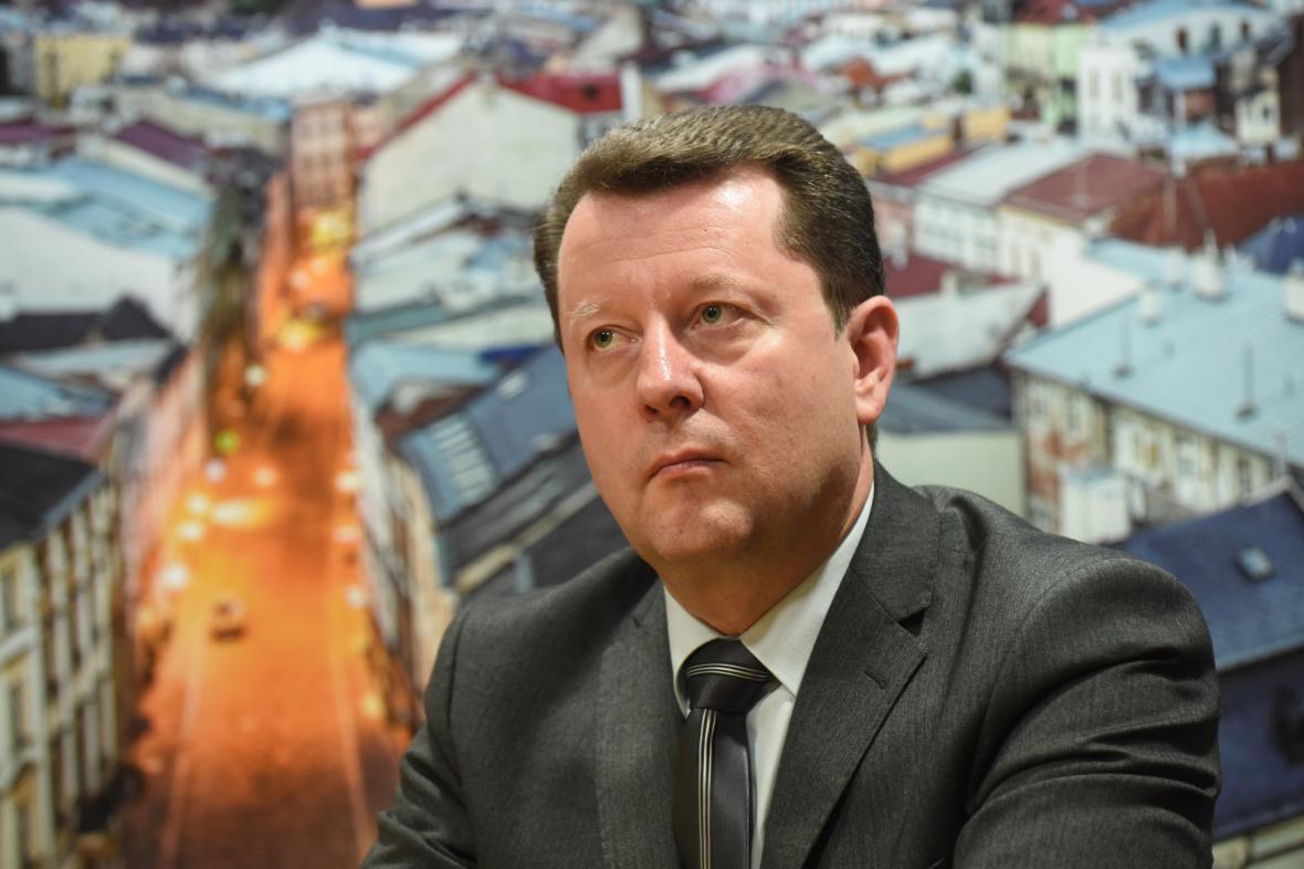 Antonín Staněk (na snímku z března 2015)