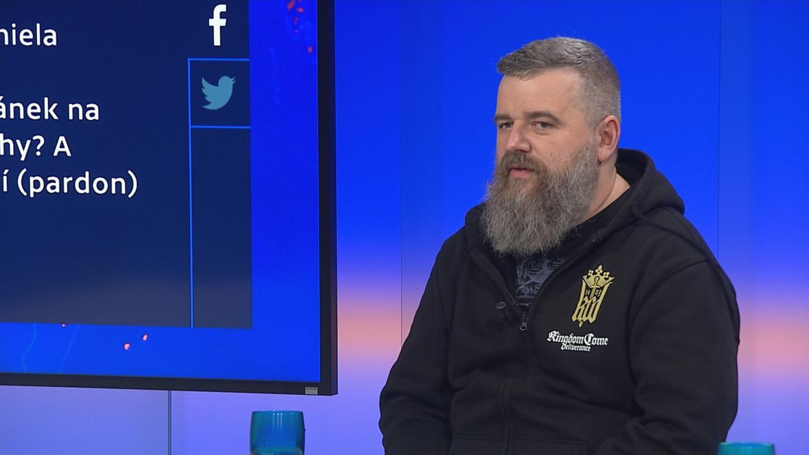 Daniel Vávra v pořadu Devadesátka ČT24