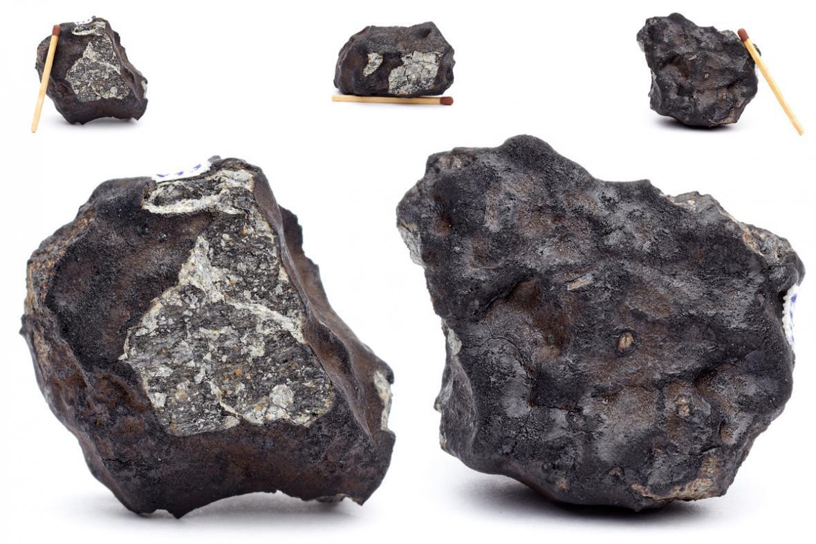 Jeden z úlomků Čeljabinského meteoritu