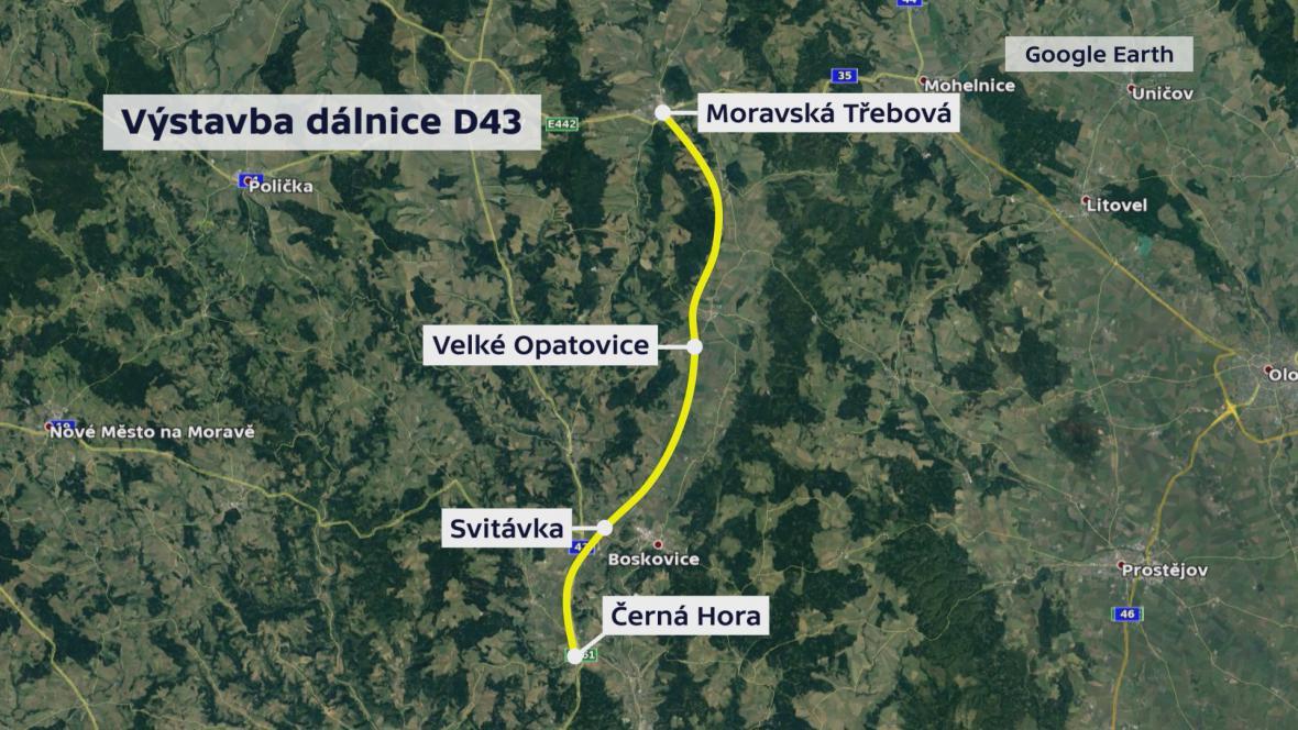 Dálnice D43