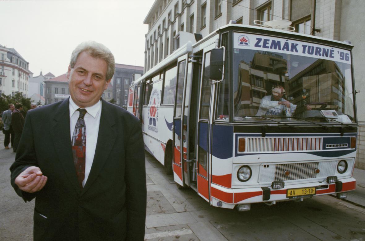 Předvolební kampaň ČSSD v roce 1996