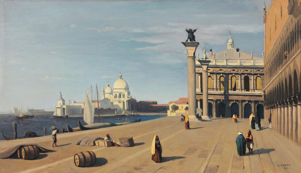 Camille Corot / Benátky