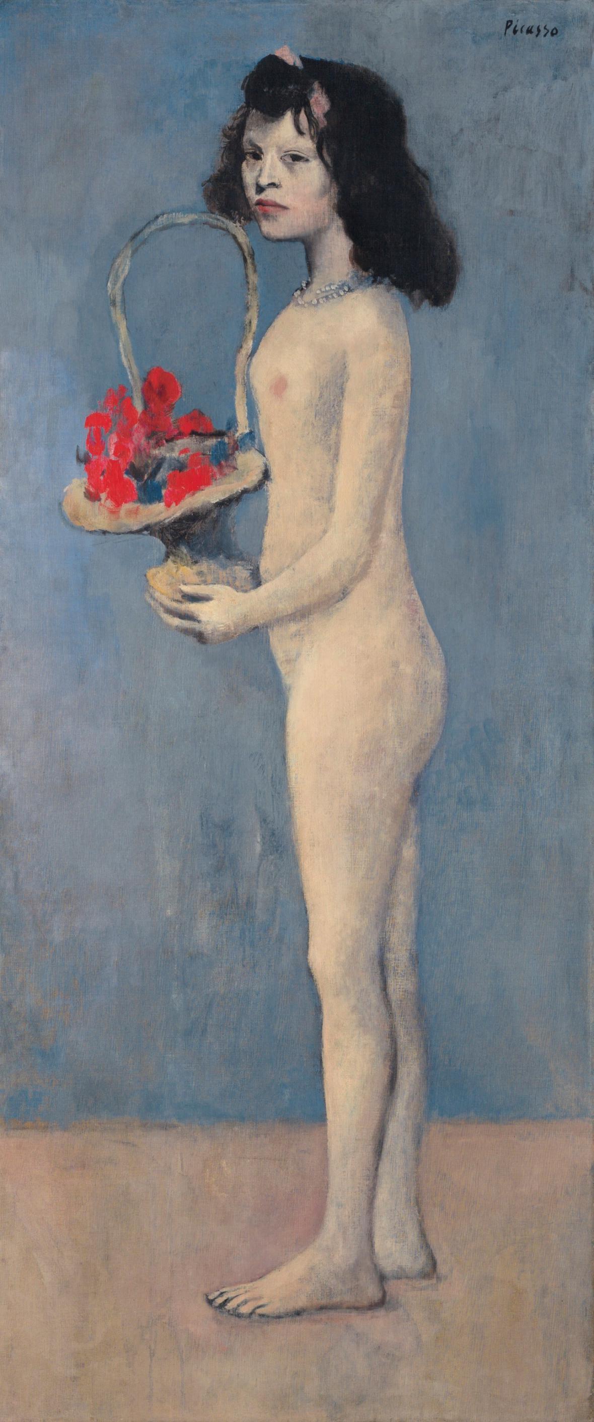 Pablo Picasso Picasso / Dívka s květinovým košem