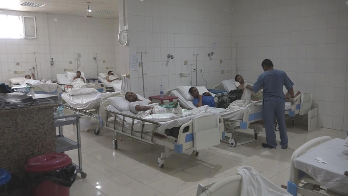 Zraněným pomáhají v Jemenu zejména Lékaři bez hranic