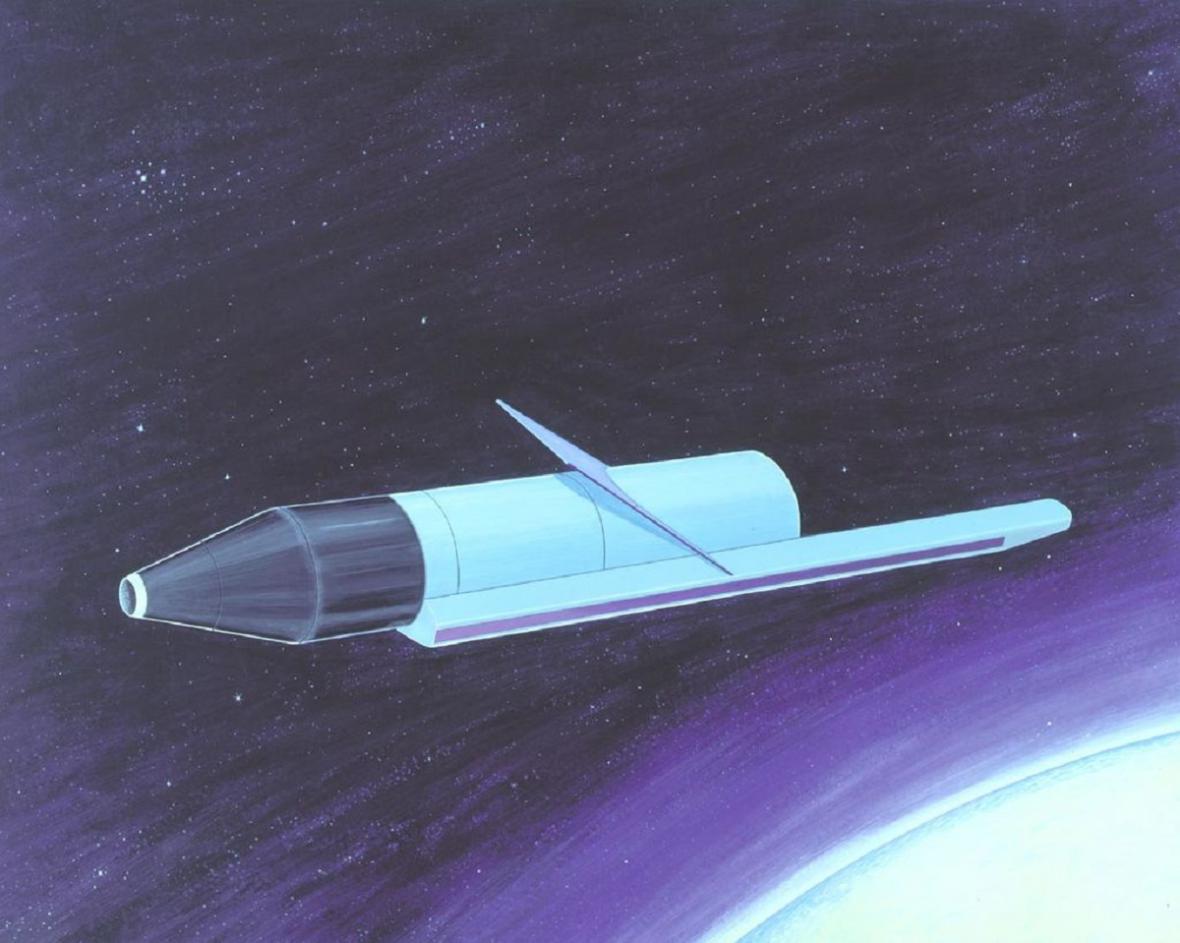 Satelit sovětského programu RORSAT