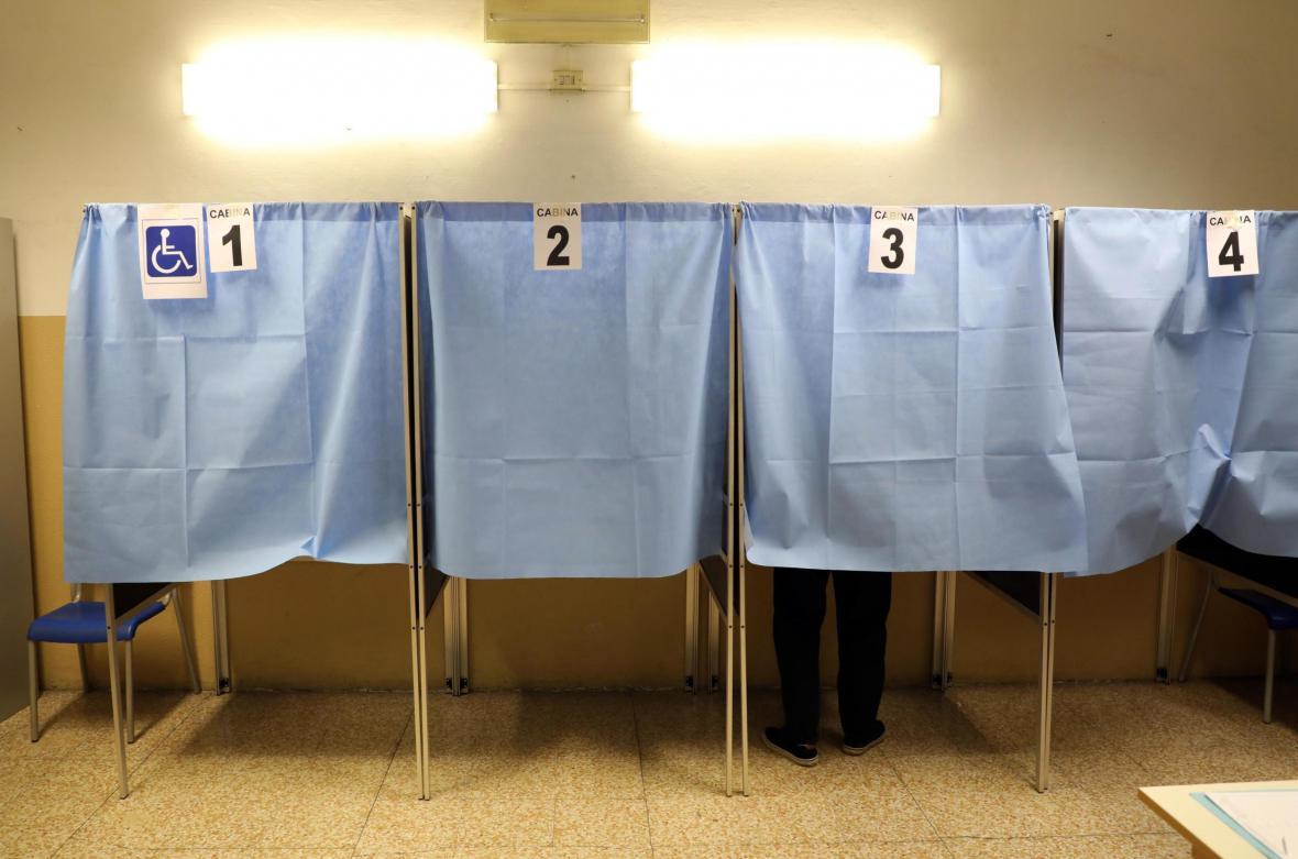 Parlamentní volby v Itálii