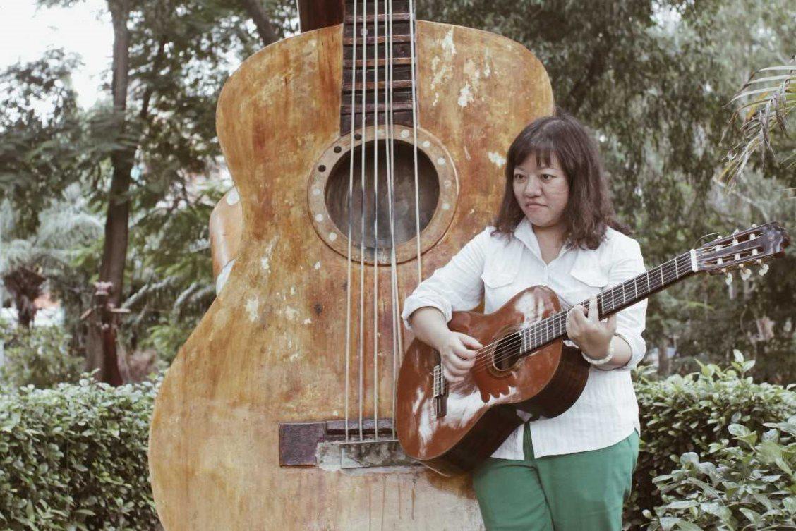 Vietnamská disidentka Pham Doan Trang