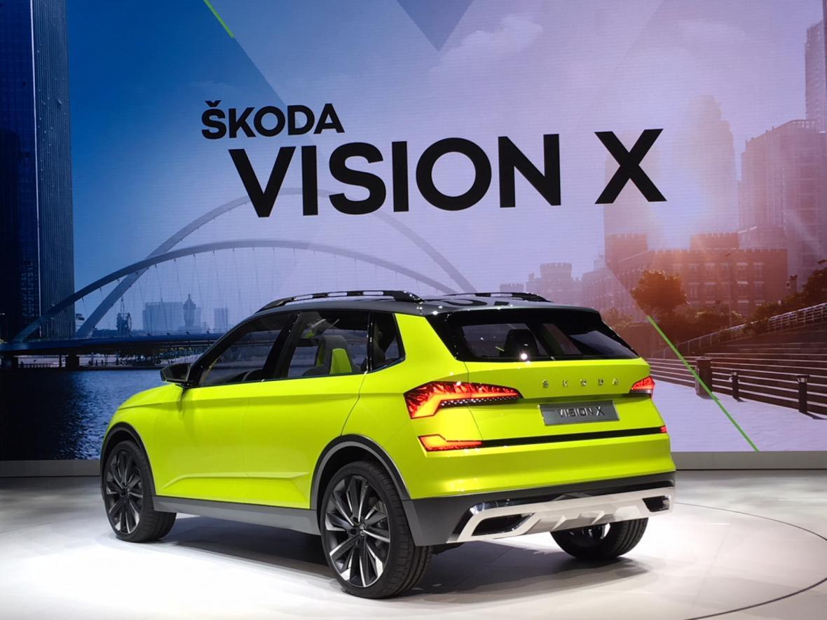 Škoda Auto ukázala koncept nového městského SUV Vision.