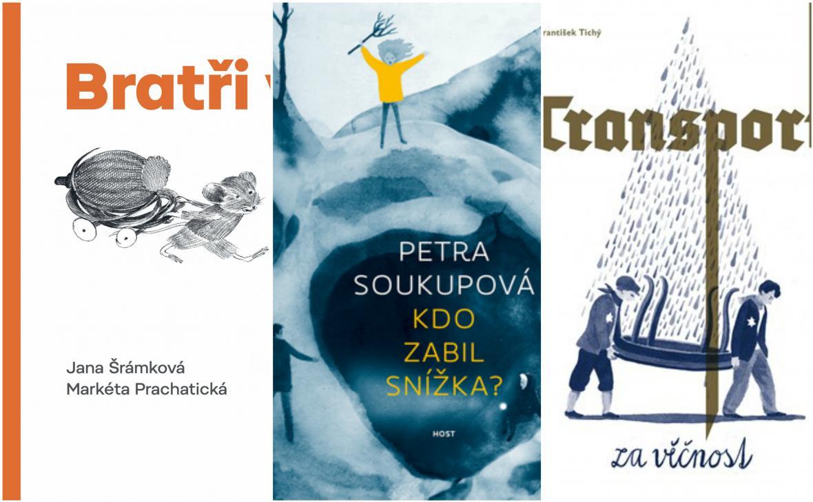 Nominace Magnesia Litera: knihy po děti a mládež
