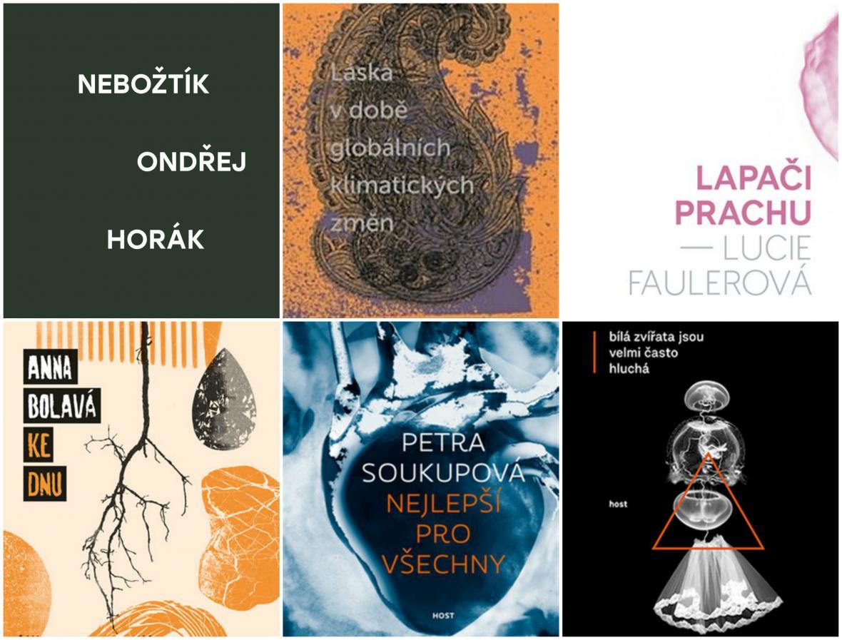Nominace Magnesia Litera: próza