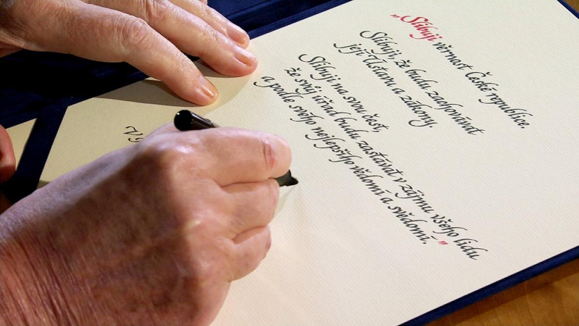 Slavnostní prezidentský slib