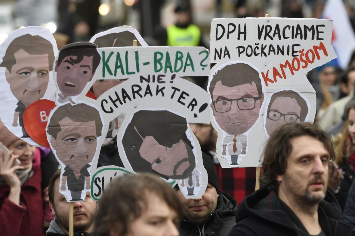 Protesty v Praze