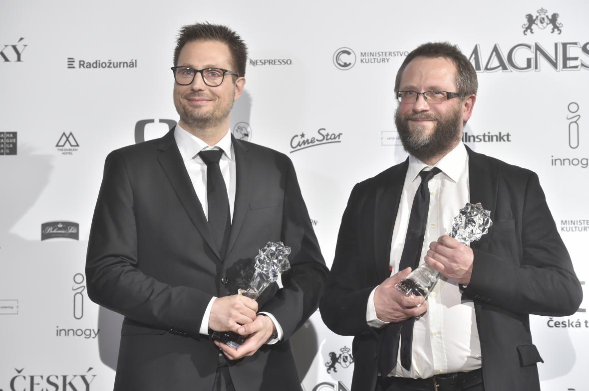Český lev za rok 2017: Claus Lynge a Jakub Čech