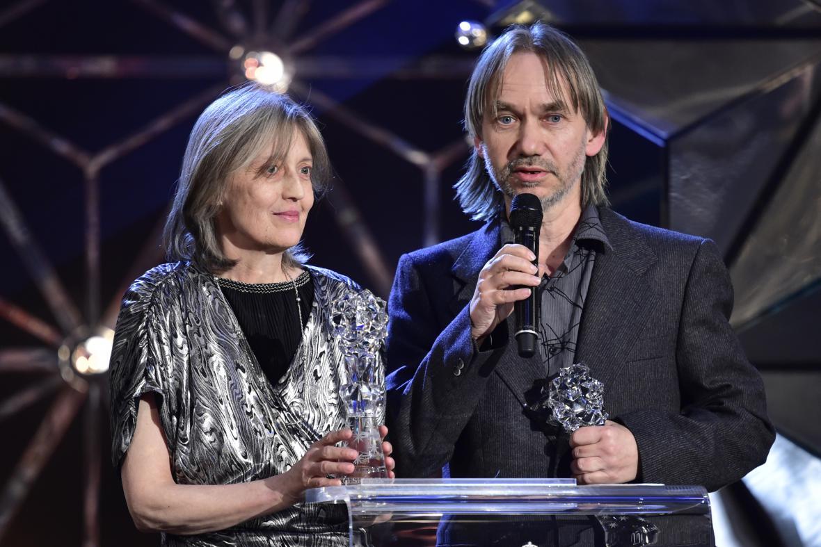 Český lev za rok 2017: Irena a Vojtěch Havlovi