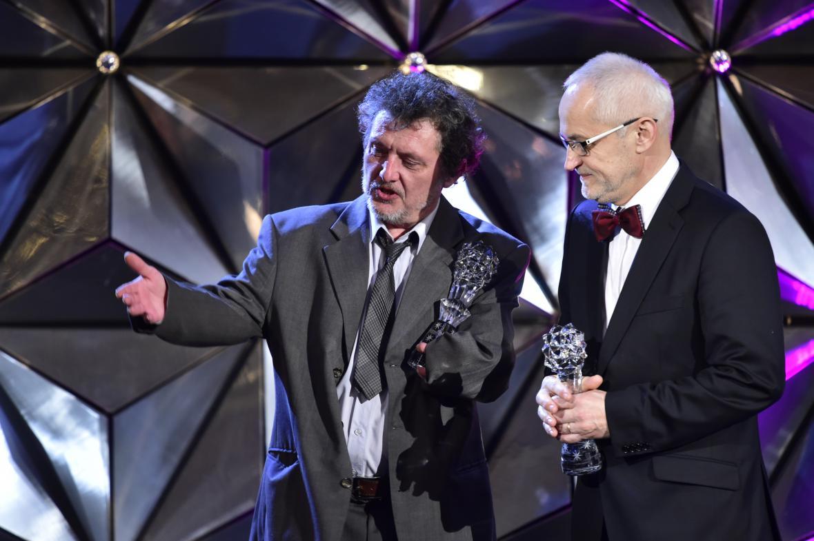 Český lev za rok 2017: Martin Velíšek, František Lipták