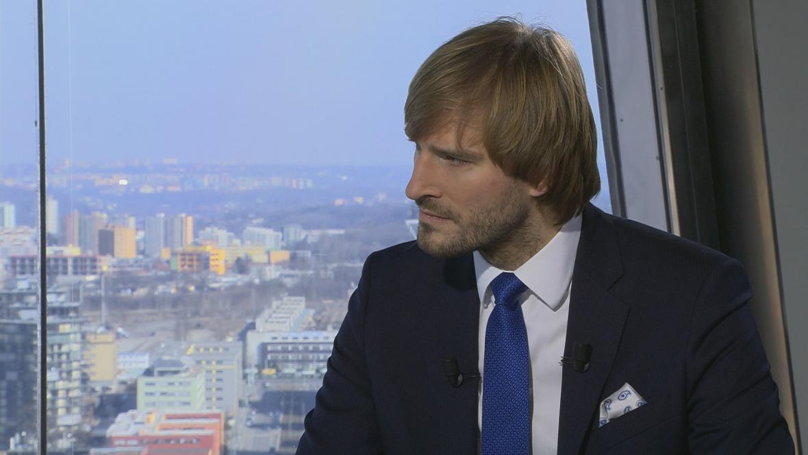 Ministr zdravotnictví v demisi Adam Vojtěch (nestr. za ANO)