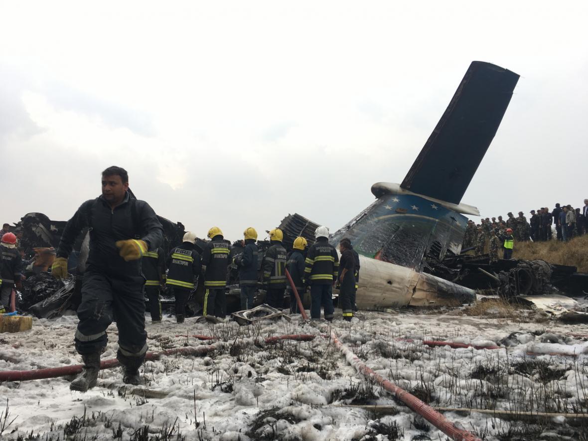 Nehoda letadla v Káthmándú