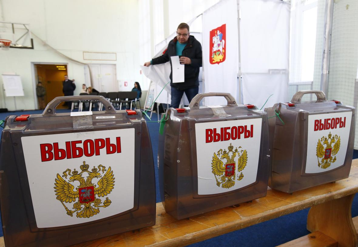 Kandidáti prezidentských voleb v Rusku