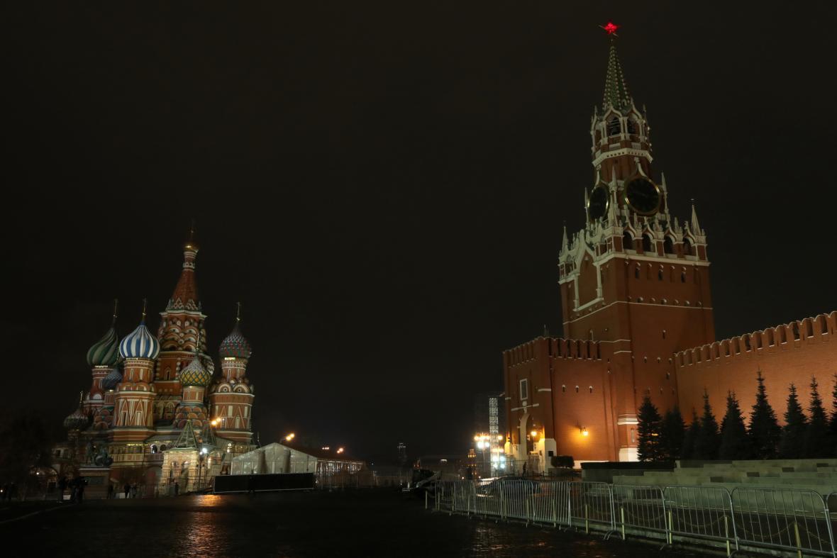 Moskva v noci