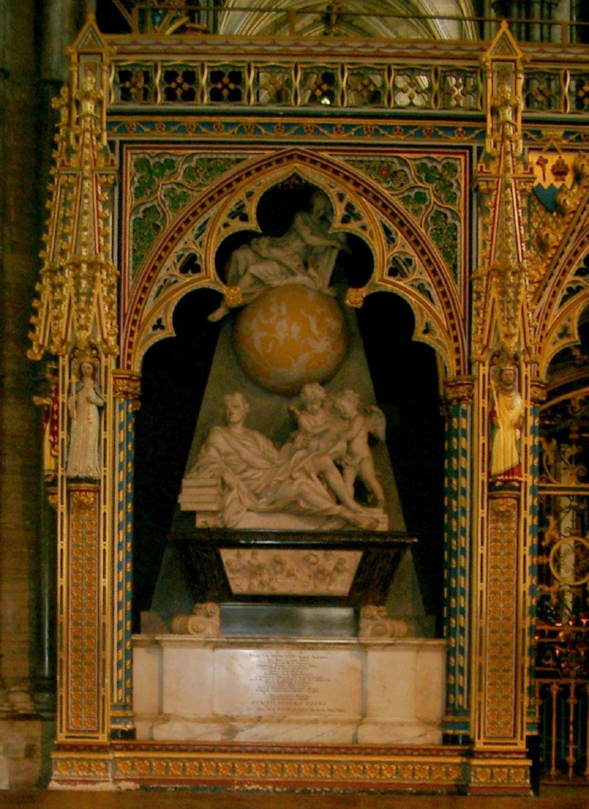 Hrob Izáka Newtona