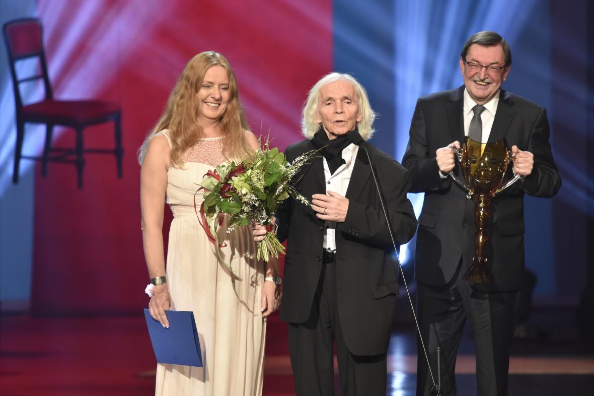 Cena Kolegia za mimořádný umělecký přínos českému divadelnímu umění: Jiří Srnec