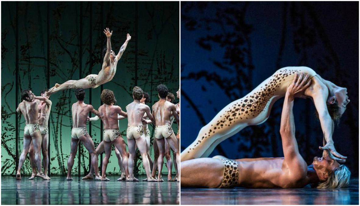 Balet: Ondřej Vinklát a Nikola Márová