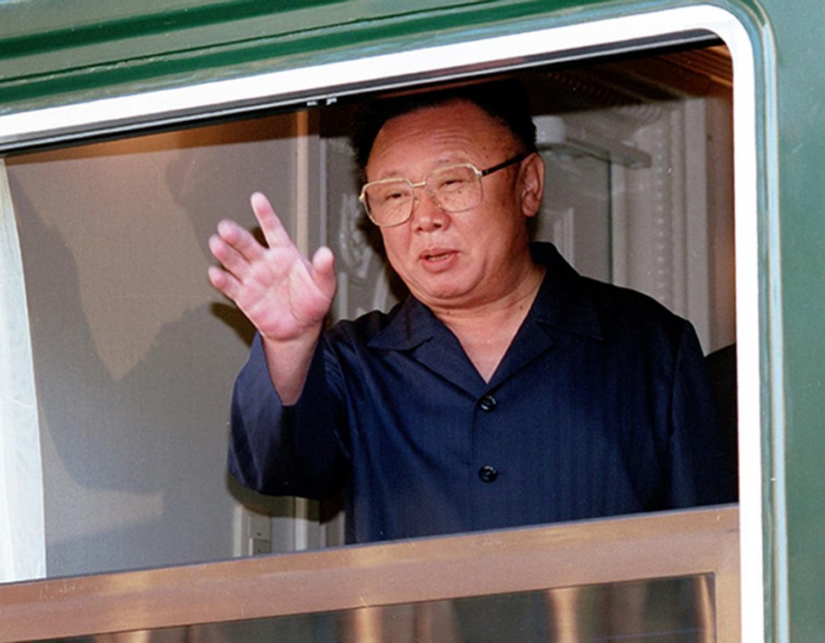 Kim Čong-il přijel 20. srpna 2002 ve svém obrněném vlaku na čtyřdenní neoficiální návštěvu Ruska