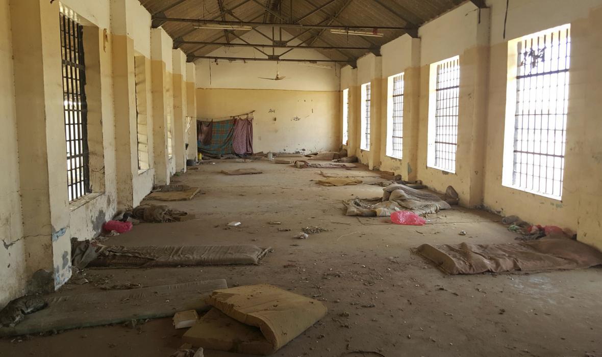 Věznice v Adenu, kde vyslýchají Emiráty podezřelé teroristy