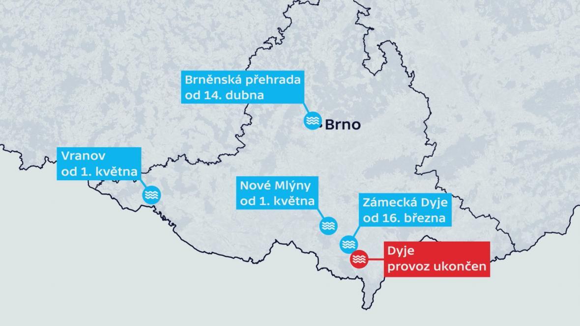 Zahájení plavební sezóny na jihu Moravy